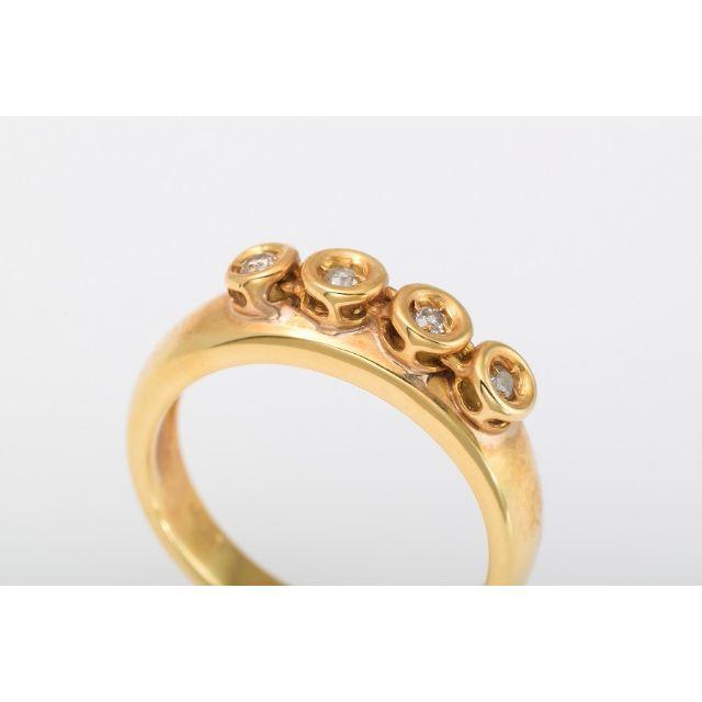 PonteVecchio(ポンテヴェキオ)のPonteVecchio K18 ダイヤモンド リング 品番B5-705 レディースのアクセサリー(リング(指輪))の商品写真