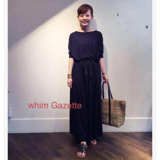 ドゥーズィエムクラス(DEUXIEME CLASSE)のwhim Gazetteウールワンピース(ロングワンピース/マキシワンピース)