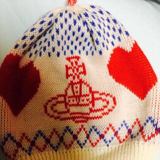 ヴィヴィアンウエストウッド(Vivienne Westwood)のヴィヴィアン☆ニット帽レア(ニット帽/ビーニー)
