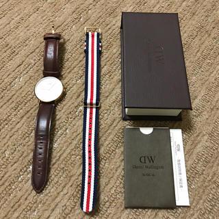 ダニエルウェリントン(Daniel Wellington)のダニエルウェリントン 36mm ローズゴールド(腕時計(アナログ))