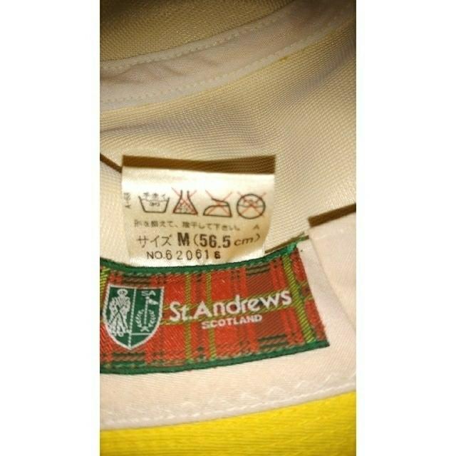 St.Andrews(セントアンドリュース)の新品イエロハット セントアンドリュース M メンズの帽子(キャップ)の商品写真