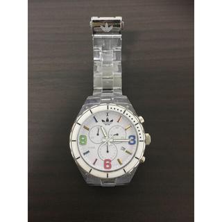 アディダス(adidas)のアディダス adidas 時計 腕時計ADH2517 ホワイト クリアベルト(腕時計)