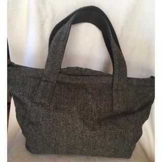ムジルシリョウヒン(MUJI (無印良品))の無印良品ウールツイードトートバッグ(トートバッグ)