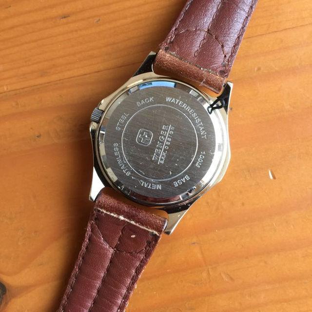 Wenger(ウェンガー)の腕時計 ブランド WENGER ウェンガー SAKデザイン ビンテージ メンズの時計(その他)の商品写真