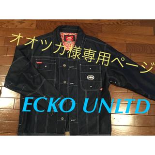 エコーアンリミテッド(ECKO UNLTD)のエコーアンリミテッドのジージャン(Gジャン/デニムジャケット)