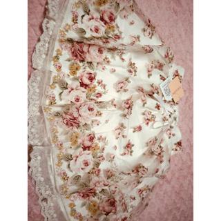 リズリサ(LIZ LISA)のLIZ LISA🎀花柄オーガンジースカート(ひざ丈スカート)