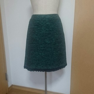 デビュードフィオレ(Debut de Fiore)のデビュードフィオレの台形スカート(ひざ丈スカート)