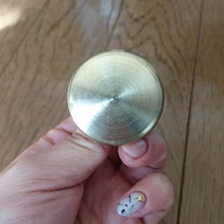 ストウブ(STAUB)のミミ様専用☆新品 ストウブ 真鍮 ゴールド Lサイズ ノブ ツマミ(鍋/フライパン)
