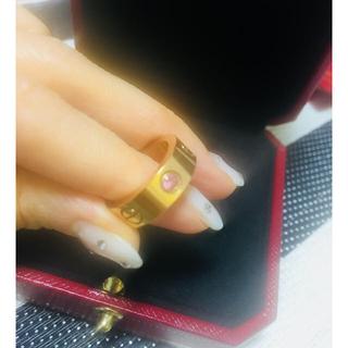 カルティエ(Cartier)のcartier カルティエ ラブリング(リング(指輪))