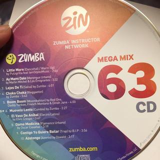 ズンバ(Zumba)のズンバCD(ダンス/バレエ)