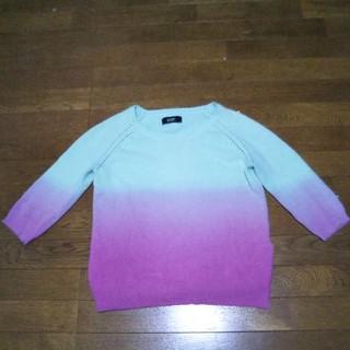 ディーゼル(DIESEL)のディーゼル ニット 七分袖セーター(ニット/セーター)