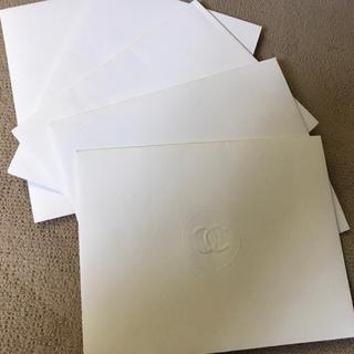 シャネル(CHANEL)のシャネル 封筒 カード入れ 5枚 セット売り(カード/レター/ラッピング)