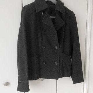 アンタイトル(UNTITLED)のアンタイトル ウールジャケット コート ダークグレー 42(ロングコート)