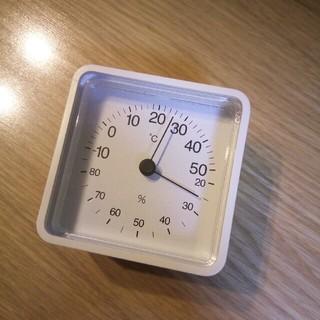 ムジルシリョウヒン(MUJI (無印良品))の温湿度計 無印