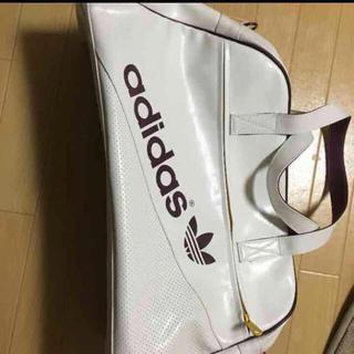 アディダス(adidas)のadidas originals バック! 白 人気(ボストンバッグ)