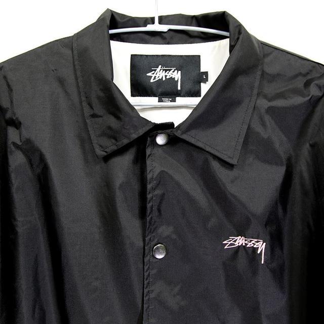 STUSSY(ステューシー)の美品★STUSSY★コーチジャケット★サイズL メンズのジャケット/アウター(その他)の商品写真