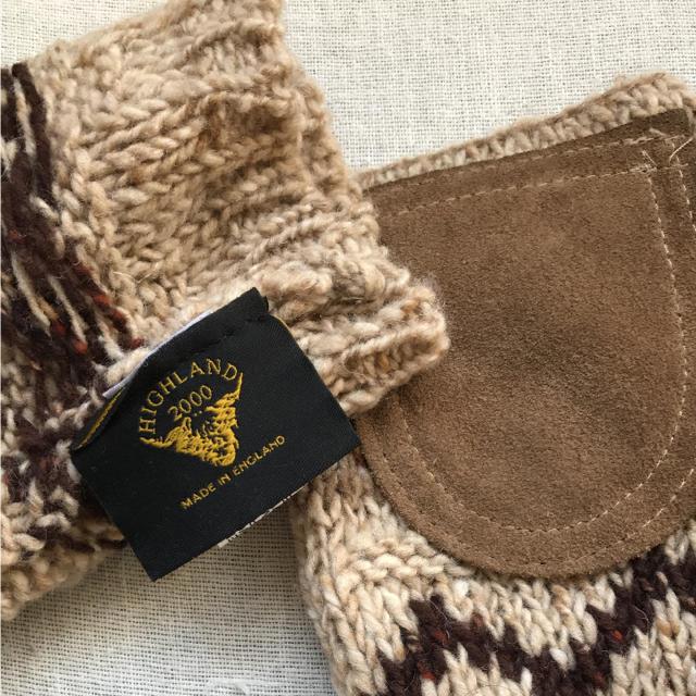 Hiland Club(ハイランドクラブ)のれも様専用ですほハイランド 手袋 レディースのファッション小物(手袋)の商品写真