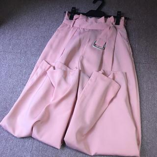 セシルマクビー(CECIL McBEE)のピンクワイドパンツ(カジュアルパンツ)
