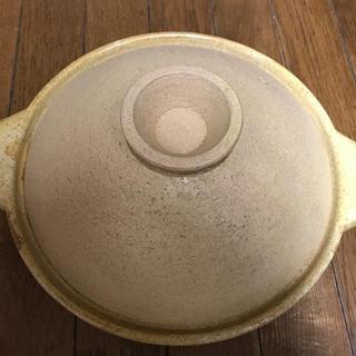 ムジルシリョウヒン(MUJI (無印良品))の無印良品 MUJI 土鍋 2〜3人用(鍋/フライパン)