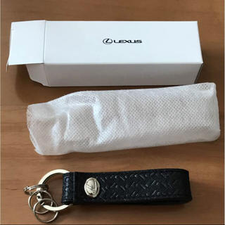 トヨタ(トヨタ)のレクサス キーホルダー 本革 新品(その他)