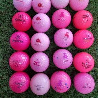 ウィルソン(wilson)のロストボール レディース用 ピンク 20球(その他)
