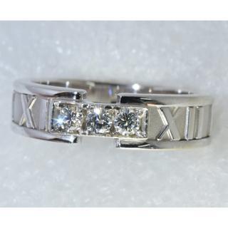ティファニー(Tiffany & Co.)の楽々様専用アトラス 3Pダイヤモンド リング サイズ15(リング(指輪))