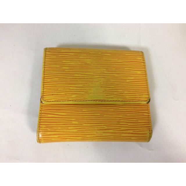 c5f7057a351a LOUIS VUITTON - 本物ルイヴィトンLVエピ二つ折りWホック財布サイフ ...