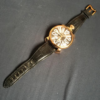 ガガミラノ(GaGa MILANO)のガガミラノ腕時計(レザーベルト)