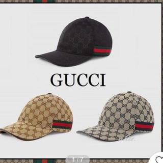 グッチ(Gucci)のGUCCI★大人気♪ GG canvasベースボールキャップ(キャップ)