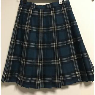 ミツコシ(三越)の三越 制服用 プリーツスカート(ひざ丈スカート)