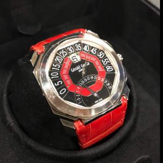 ジェラルドジェンタ(Gerald Genta)のジェラルド・ジェンタ オクトバイレトロ ジャンピングアワー レトログラード WG(腕時計(アナログ))