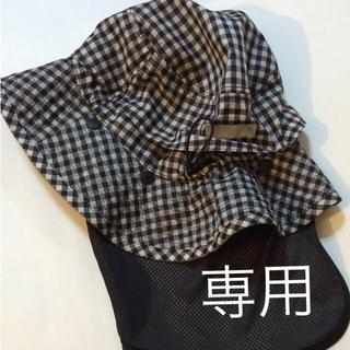 ムジルシリョウヒン(MUJI (無印良品))のミトン様 専用 値下げ 無印良品 帽子 美品(その他)