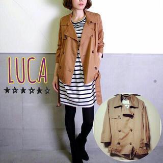 ルカ(LUCA)の未使用タグ付♡薄手トレンチコート(トレンチコート)