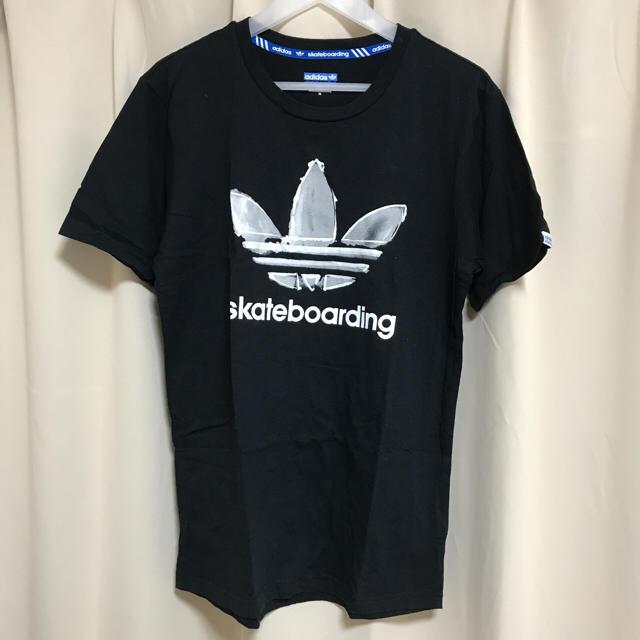 adidas(アディダス)の※お値引き※ adidas skateboarding TシャツM メンズのトップス(Tシャツ/カットソー(半袖/袖なし))の商品写真