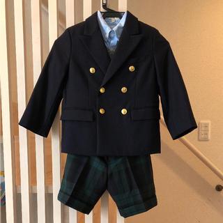 ポロラルフローレン(POLO RALPH LAUREN)のMeeeeさん専用 ラルフローレン 金ボタン スーツ(ドレス/フォーマル)