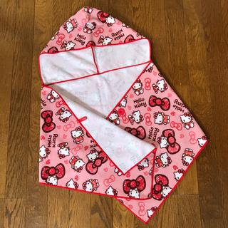 ハローキティ(ハローキティ)のkitty ♡ フード付きタオル&ワッペン(タオル/バス用品)