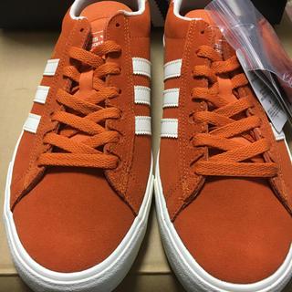 アディダス(adidas)のadidas campus オレンジ サイズ27 新品未使用(スニーカー)