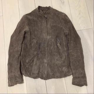 アパルトモンドゥーズィエムクラス(L'Appartement DEUXIEME CLASSE)のsissi シシ レザージャケット(ノーカラージャケット)