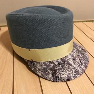 パサージュミニョン(passage mignon)のパサージュミニョン 帽子(ニット帽/ビーニー)