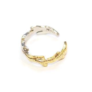チビジュエルズ(Chibi Jewels)の新品未使用 Chibi jewels 珊瑚モチーフ C型 グラデーションリング (リング(指輪))
