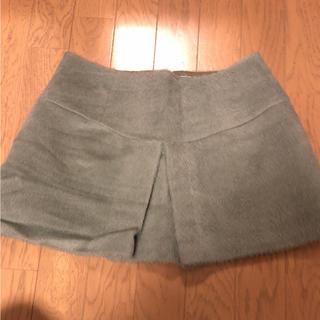 デイリーニュース(DAILY NEWS)のミニスカート アルパカ入り 新品(ミニスカート)