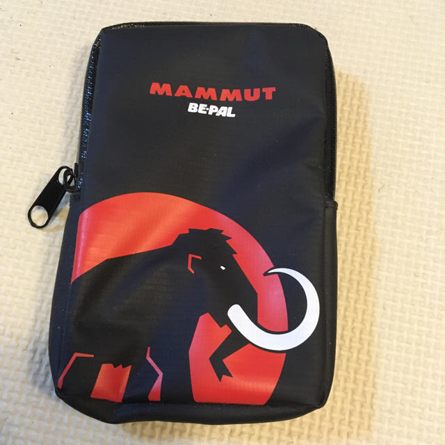 Mammut(マムート)のマムート ビーパル BE-PAL 2wayポーチ スポーツ/アウトドアのアウトドア(登山用品)の商品写真