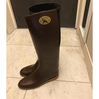 ダフナ(Dafna)のダフナ レインブーツ ブラウン サイズ40(レインブーツ/長靴)