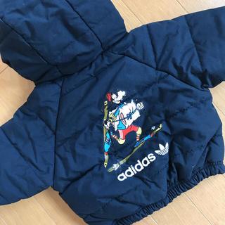 アディダス(adidas)の☆adidas アディダス ディズニーグーフィ☆可愛いジャケット美品(ジャケット/コート)