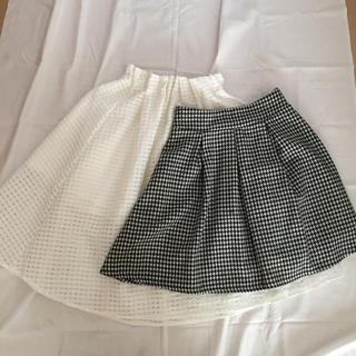 ハニーズ(HONEYS)のチェックのスカート(ひざ丈スカート)