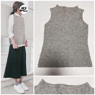 ムジルシリョウヒン(MUJI (無印良品))の無印良品 simple knit best(ベスト/ジレ)