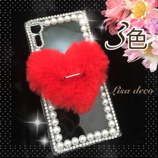 パールとハート★iPhone 6s カバー(iPhoneケース)