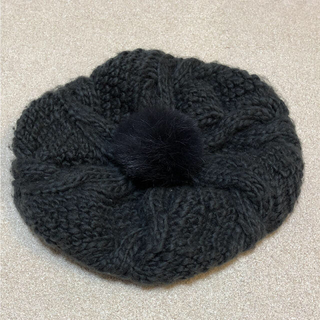 ケービーエフ(KBF)のKBF ニットベレー帽【値下げしました】(ニット帽/ビーニー)