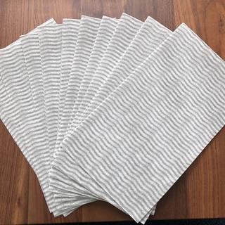 ムジルシリョウヒン(MUJI (無印良品))の無印良品  キッチンダスター 11枚 グレー(収納/キッチン雑貨)