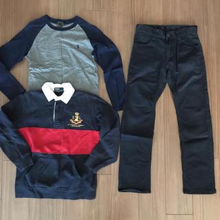 ラルフローレン(Ralph Lauren)のラルフローレンシャツ2枚&EDWINパンツ150㎝(Tシャツ/カットソー)